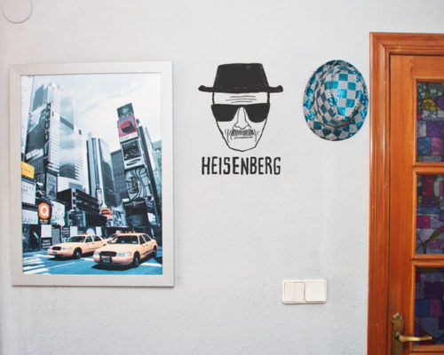 "Vinilo ""Heisenberg"" Breaking Bad"