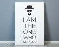 "Lámina ""I am the one who knocks"""